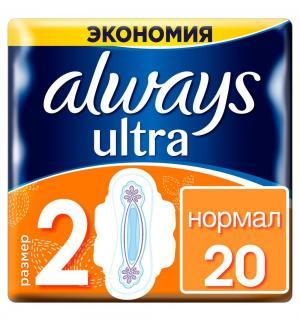 Прокладки  Ultra Normal Duo, 20 шт Always