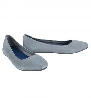 Туфли  Lina Suede Flat Grey, цвет: серый Crocs