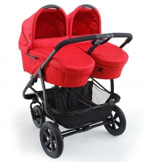 Коляска для двойни 2 в 1  Duo, цвет: red Cozy. Цвет: красный