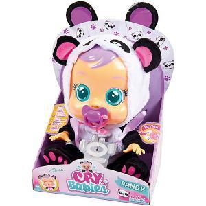 Плачущий младенец  Cry Babies Pandy IMC Toys. Цвет: фиолетовый