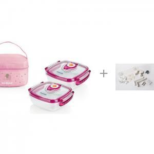 Термосумка Pack-2-Go Hermisized и набор Baby Safety Калейдоскоп Безопасности Miniland