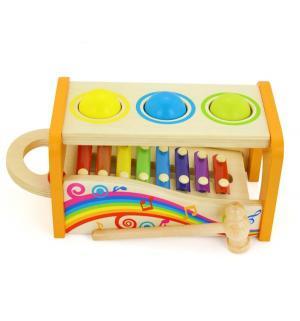 Игрушка-стучалка  Волшебные ноты с ксилофоном Mapacha