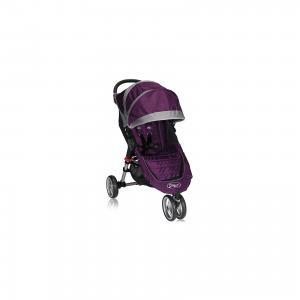 Прогулочная коляска  City Mini Single, фиолетово-серый Baby Jogger. Цвет: фиолетовый