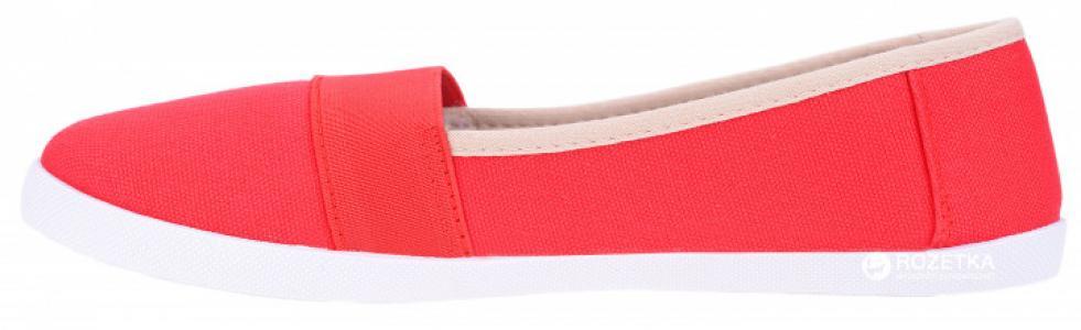 Слипоны , цвет: красный Crosby