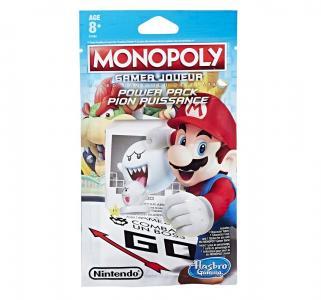 Настольная игра  Монополия Геймер. Дополнительные герои Белый мяч Monopoly