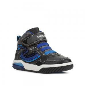 Кроссовки , цвет: черный/синий Geox