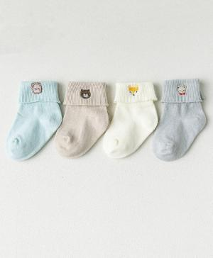 Набор из 4-х пар носков Животные Caramella