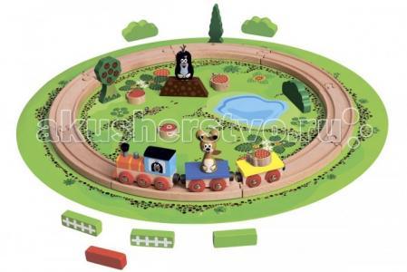Железная дорога Маленький крот 13773 Bino