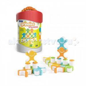Конструктор  магнитный для малышей Better Builders Grippies Stackers 24 детали Guidecraft