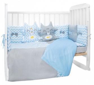 Комплект в кроватку  Котята (6 предметов) LuBaby