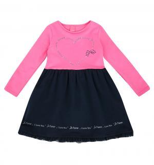 Платье , цвет: розовый/синий Atut