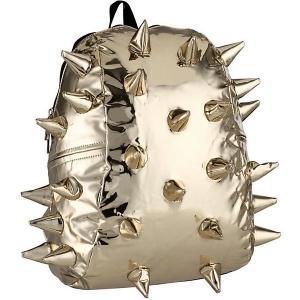 Рюкзак  Rex Half Metallic 24 Karat, 36х30х15 см MadPax. Цвет: золотой