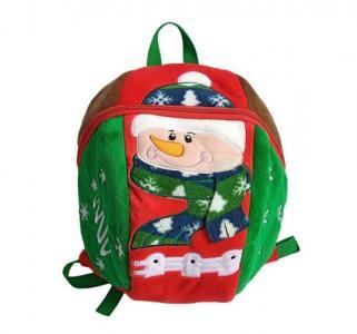 Рюкзак  Снеговик Shantou Gepai. Цвет: зеленый