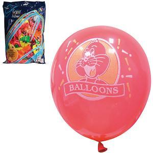 Воздушные шары Веселая затея, 100 шт, неоновые Затея. Цвет: разноцветный