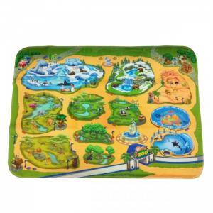 Игровой коврик  Зоопарк Teplokid