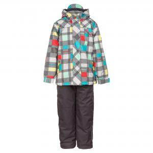 Комплект (куртка и брюки) DEUX PAR. Цвет: мультицвет