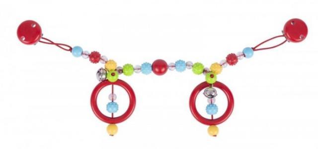 Растяжка на коляску Разноцветные ёжики Heimess