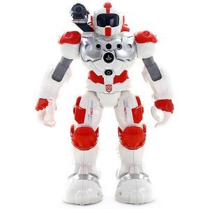 Интерактивный робот  Альфа, с водяной пушкой, белый Zhorya. Цвет: белый