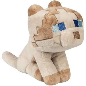 Мягкая игрушка  Happy Explorer Ragdoll Cat, 15 см Minecraft. Цвет: weiß/beige