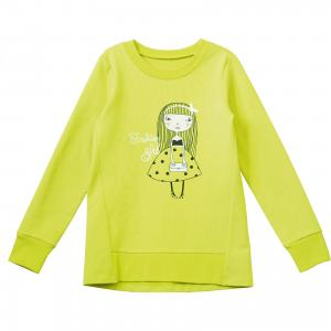 Джемпер для девочки Goldy. Цвет: зеленый