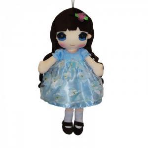 Кукла в голубом платье 50 см ABtoys