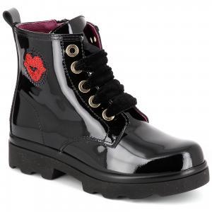Ботинки PAOLA для девочки. Цвет: черный