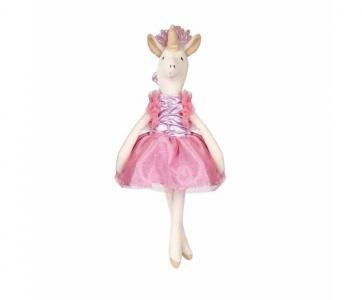 Мягкая игрушка  Единорог тильда 34 см Angel Collection