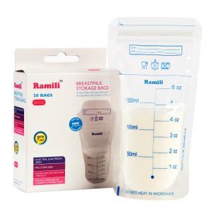 Пакеты для хранения грудного молока Breastmilk Bags Ramili