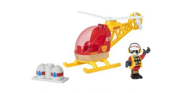 Игровой набор Спасательный вертолет 3 элемента Brio