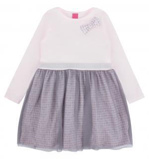 Платье , цвет: серый/розовый Atut