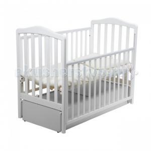 Детская кроватка  Винни продольный маятник Papaloni