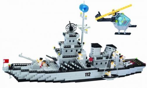 Конструктор  Крейсер 112 (970 элементов) Enlighten Brick