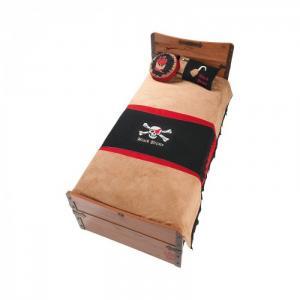 Комплект в кроватку  Black Pirate Hook (3 предмета) Cilek