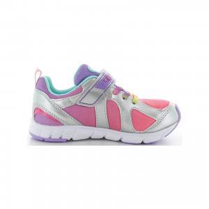 Кроссовки  для девочки Tsukihoshi. Цвет: серый