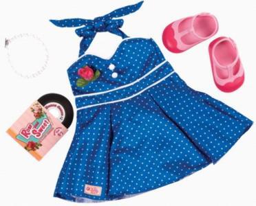 Комплект одежды для куклы с виниловым диском Our Generation Dolls