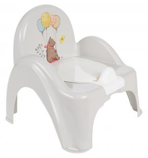 Горшок-стульчик  Лесная сказка, цвет: бежевый Tega
