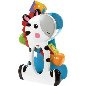 Развивающая игрушка Fisher-Price Зебра с волшебными кубиками Mattel