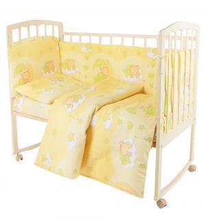 Комплект в кроватку  Мишкин сон Сонный гномик