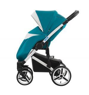 Прогулочная коляска  Loydi, цвет: темно-бирюзовый/белый Aroteam