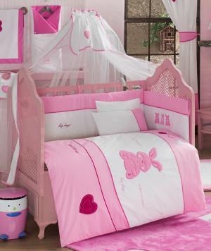 Комплект постельного белья  Little Rabbit 3 предмета, Kidboo