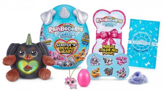 Мягкая игрушка  Плюш-сюрприз RainBocoRns Puppycorn мини в яйце Zuru