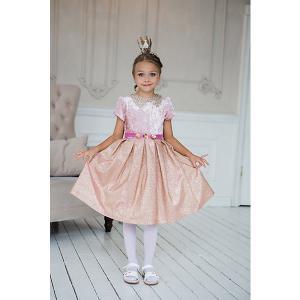 Нарядное платье Unona. Цвет: блекло-розовый