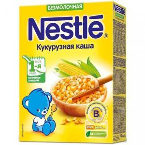 Каша  безмолочная Кукурузная Моя 1-ая Каша.Начинаем прикорм с 5 месяцев 200 г Nestle