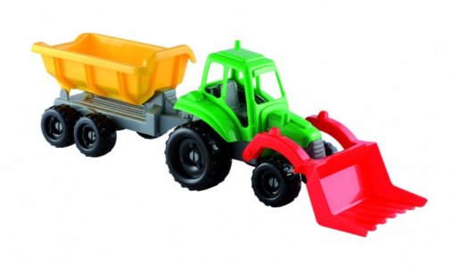 Трактор с прицепом 52 см Ecoiffier