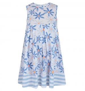 Платье , цвет: синий/серый M&D