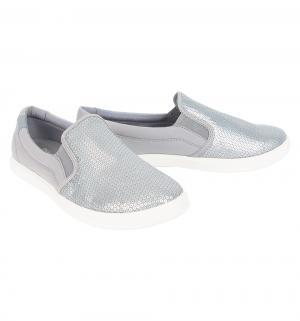 Слипоны  CitiLane Sequin Silver, цвет: серебряный Crocs