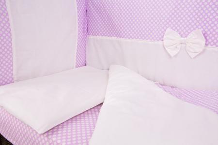 Комплект постельного белья  Малышка, цвет: розовый Lili Dreams