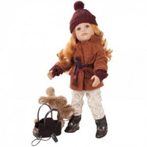 Кукла Ханна с собачкой и аксессуарами 50 см Gotz