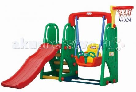 Детский игровой комплекс для дома и улицы JM-701Е Happy Box