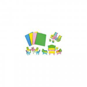 Мягкий 3D-пазл Мебель (5 дизайнов) TUKZAR